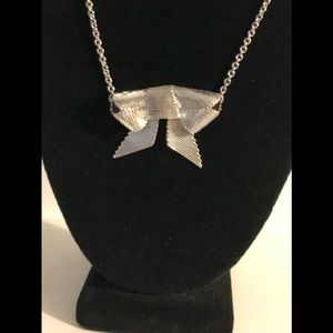 Kate Spade NY All Wrapped Up Bow Necklace